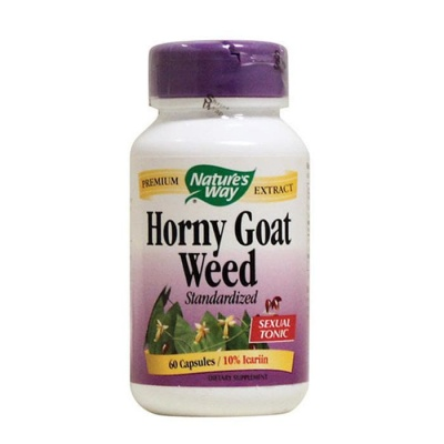 ЕПИМЕДИУМ РАЗГОНЕН КОЗЕЛ капсули 500 мг. 60 броя / NATURE'S WAY HORNY GOAT WEED
