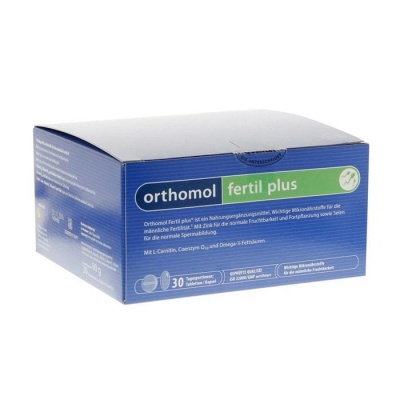 ОРТОМОЛ ФЕРТИЛ ПЛЮС 30 броя дневни дози / ORTHOMOL FERTIL PLUS