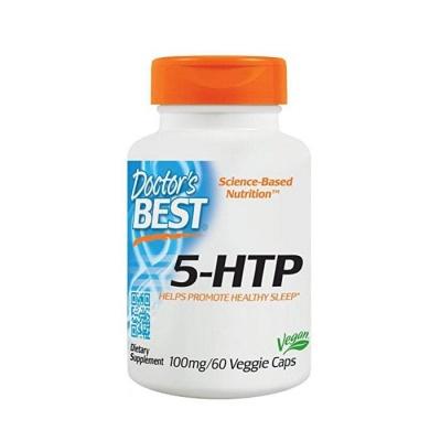ДОКТОР'С БЕСТ 5-ХИДРОКСИТРИПТОФАН капсули 100 мг. 60 броя / DOCTOR'S BEST 5-HTP