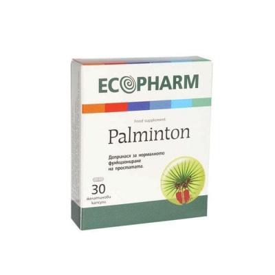ПАЛМИНТОН желатинови капсули 30 броя / PALMINTON