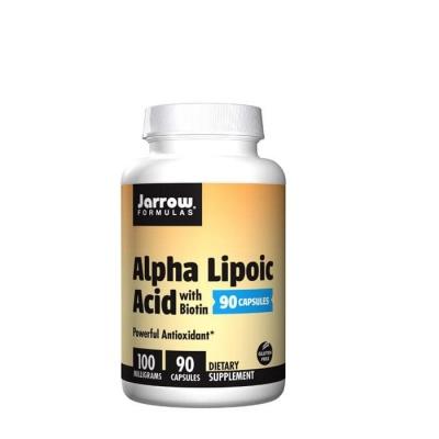 АЛФА ЛИПОЕВА КИСЕЛИНА таблетки 100 мг. 90 броя / JARROW FORMULAS ALPHA LIPOIC ACID