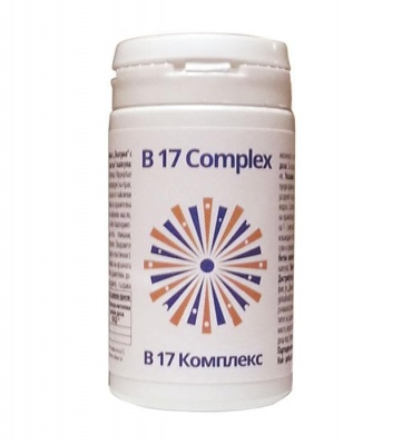 КОМПЛЕКС Б17 капсули 60 броя / B17 COMPLEX