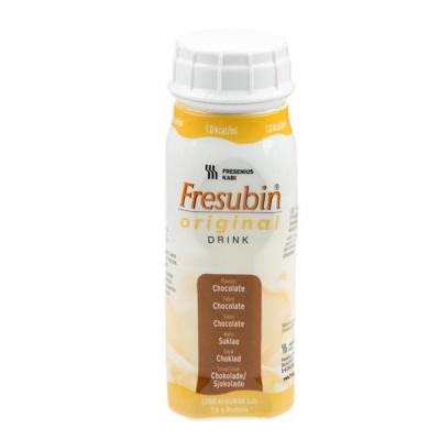 ФРЕЗУБИН ОРИГИНАЛ течна диетична храна с вкус на шоколад 200 мл. / FRESUBIN ORIGINAL DRINK CHOCOLATE