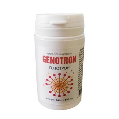 ГЕНОТРОН капсули 500 мг. 60 броя / GENOTRON