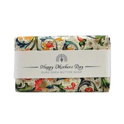 САПУН ИНГЛИШ СОУП КАМПЪНИ ДЕН НА МАЙКАТА 200 гр. / THE ENGLISH SOAP COMPANY HAPPY MOTHERS DAY SHEA BUTTER SOAP