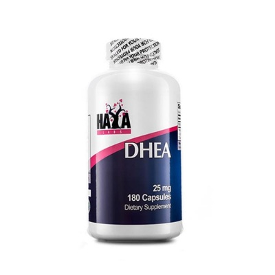 ХАЯ ЛАБС ДХЕА (ДЕХИДРОЕПИАНДРОСТЕРОН) капсули 25 мг. 180 броя / HAYA LABS DHEA (DEHYDROEPIANDROSTERONE)