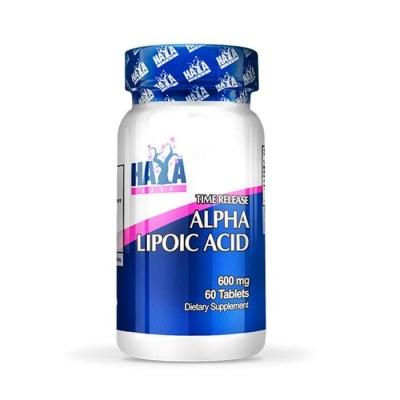 ХАЯ АЛФА ЛИПОЕВА КИСЕЛИНА TR таблетки 600 мг. 60 броя / HAYA LABS ALPHA LIPOIC ACID TR
