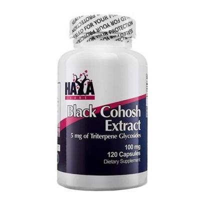 ХАЯ ЛАБС ЧЕРЕН КОХОШ ЕКСТРАКТ капсули 100 мг. 120 броя / HAYA LABS BLACK COHOSH EXTRACT