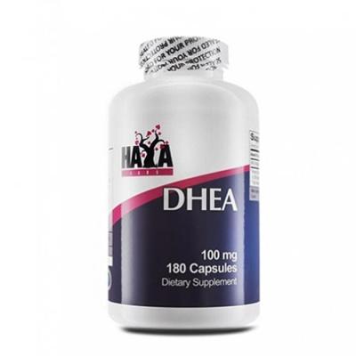 ХАЯ ЛАБС ДХЕА (ДЕХИДРОЕПИАНДРОСТЕРОН) капсули 100 мг. 180 броя / HAYA LABS DHEA (DEHYDROEPIANDROSTERONE)
