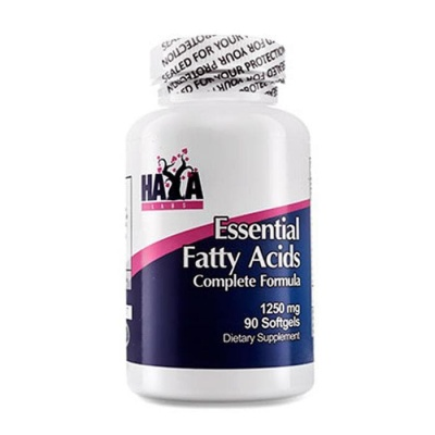 ХАЯ ЛАБС ЕСЕНЦИАЛНИ МАСТНИ КИСЕЛИНИ дражета 1250 мг. 90 броя / HAYA LABS ESSENTIAL FATTY ACIDS