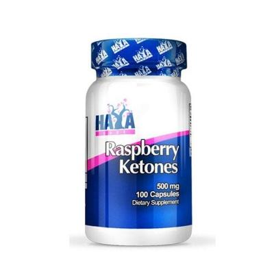 ХАЯ ЛАБС МАЛИНОВИ КЕТОНИ капсули 500 мг. 100 броя / HAYA LABS RASPBERRY KETONES