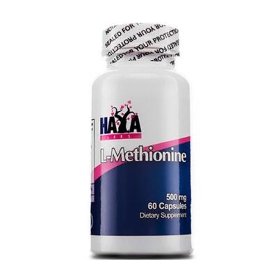 ХАЯ ЛАБС L-МЕТИОНИН капсули 500 мг. 60 броя / HAYA LABS L-METHIONINE