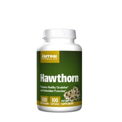 ГЛОГ капсули 500 мг. 100 броя / JARROW FORMULAS HAWTHORN