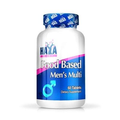 ХАЯ ЛАБС МУЛТИВИТАМИНИ ЗА МЪЖЕ таблетки 60 броя / HAYA LABS FOOD BASED MENS MULTIVITAMINS