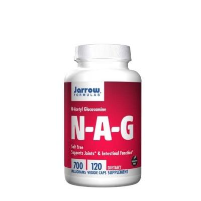 N-АЦЕТИЛ И D-ГЛЮКОЗАМИН капсули 700 мг. 120 броя / JARROW FORMULAS N-ACETYL D-GLUCOSAMINE (NAG)
