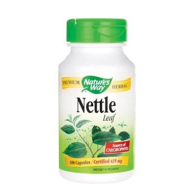 КОПРИВА ЛИСТ капсули 435 мг. 100 броя / NATURE'S WAY NETTLE LEAF