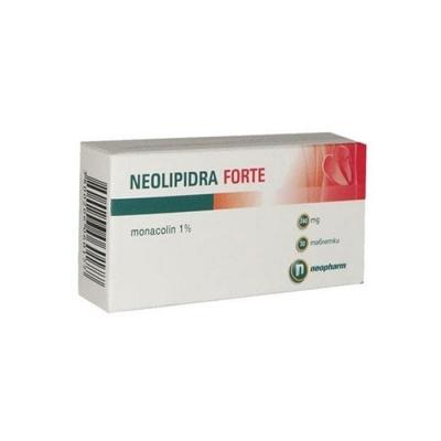 НЕОЛИПИДРА ФОРТЕ таблетки 240 мг. 30 броя / NEOPHARM NEOLIPIDRA FORTE