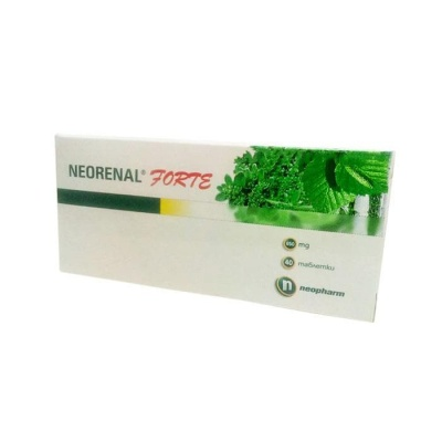 НЕОРЕНАЛ ФОРТЕ таблетки 600 мг. 40 броя / NEORENAL FORTE
