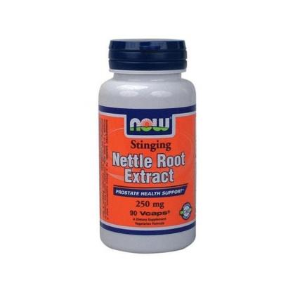 НАУ ФУДС КОПРИВА КОРЕН капсули 250 мг. 90 броя / NOW FOODS NETTLE ROOT EXTRACT