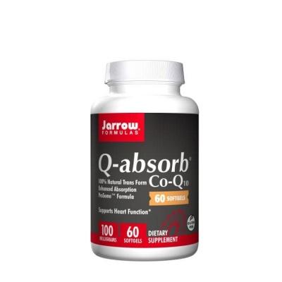 Q-АБСОРБ КОЕНЗИМ Q10 гел капсули 100 мг. 60 броя / JARROW FORMULAS  Q - ABSORB COENSYM - Q10
