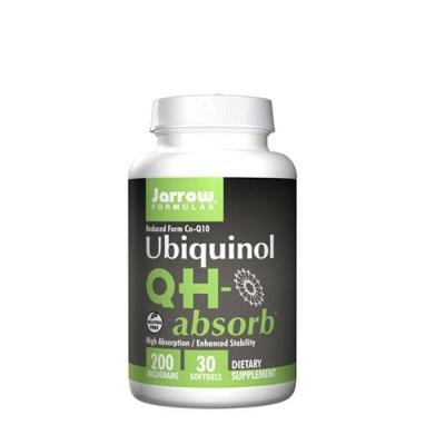 УБИКВИНОЛ С ВИСОКА АБСОРБАЦИЯ 200 мг. 30 броя / JARROW FORMULAS UBIQUINOL QH-ABSORB