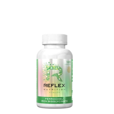 АЛБИОН ЖЕЛЯЗО капсули 14 мг. 120 броя / REFLEX NUTRITION ALBION FERROCHEL IRON BISGLICINATE
