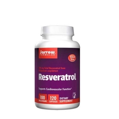 РЕСВЕРАТРОЛ капсули 100 мг. 120 броя / JARROW FORMULAS RESVERATROL