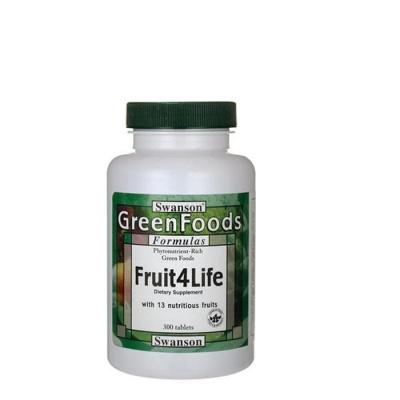 СУОНСЪН ПЛОДОВЕ ЗА ЖИВОТ таблетки 425 мг. 300 броя / SWANSON FRUIT4LIFE