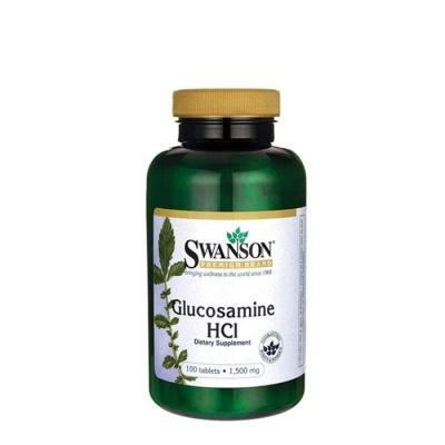 СУОНСЪН ГЛЮКОЗАМИН таблетки 1500 мг. 100 броя / SWANSON GLUCOSAMINE HCL