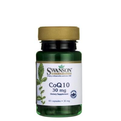 СУОНСЪН КОЕНЗИМ Q10 капсули 30 мг. 60 броя / SWANSON PREMIUM CO Q10