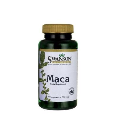 СУОНСЪН МАКА капсули 500 мг. 100 броя / SWANSON PREMIUM MACA