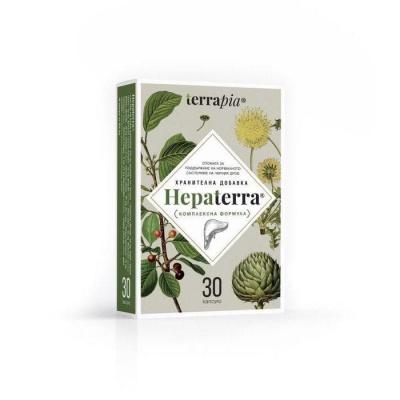 ХЕПАТЕРА капсули 30 броя / TERRAPIA HEPATERRA