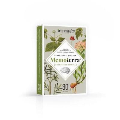 МЕМОТЕРА капсули 30 броя / TERRAPIA MEMOTERRA