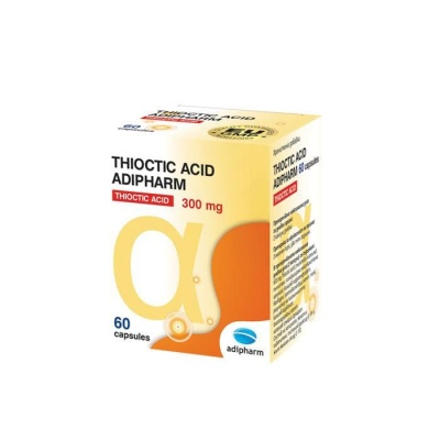 ТИОКТИК АЦИД капсули 60 броя / ADIPHARM THIOCTIC ACID